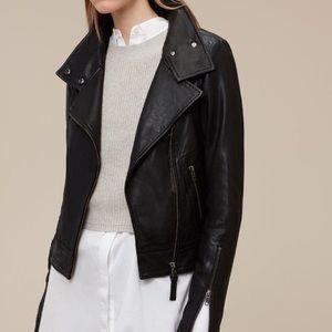 MACKAGE Kenya Aritzia XXS leather moto blak jacket